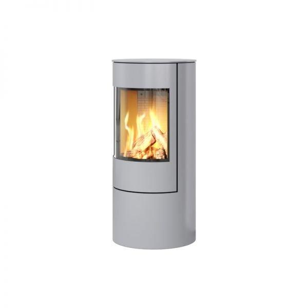 Печь-камин RAIS VIVA L 100 Gas со стальной дверцей в цвете