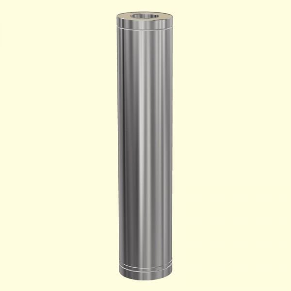 НУ 150/200 Утеплённый дымоход 1000 мм