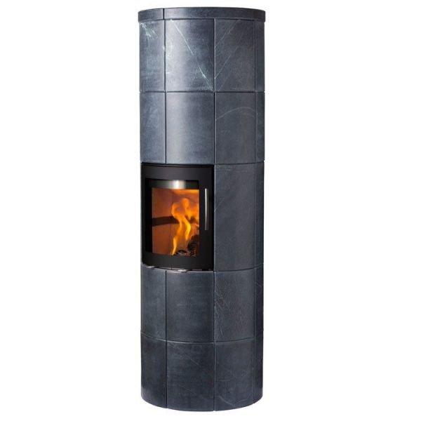 Печь-Камин Lotus M4 Dark