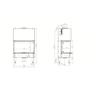 Austroflamm 75х35x45 S3 2.0