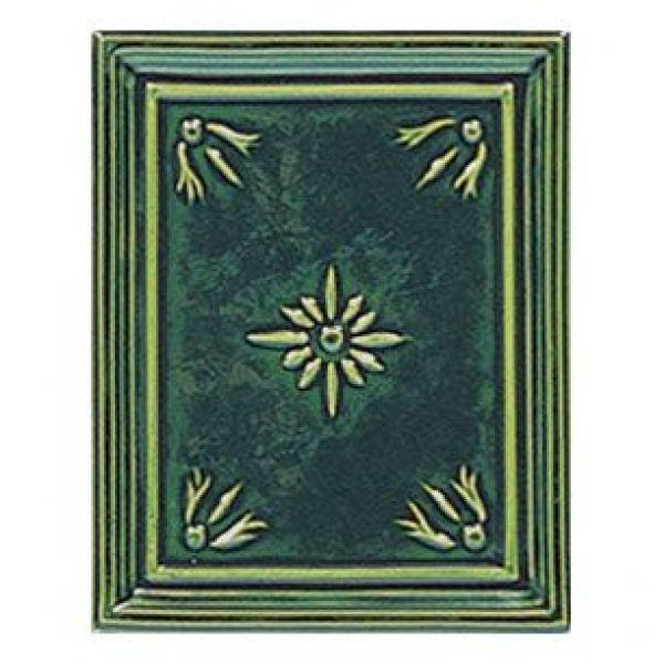 Печь Liberty, green, с колонной (Sergio Leoni)