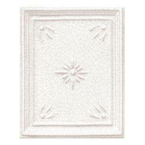 Печь MARIA LUIGIA, ажурная крышка, цвет L1: white craquele (Sergio Leoni)