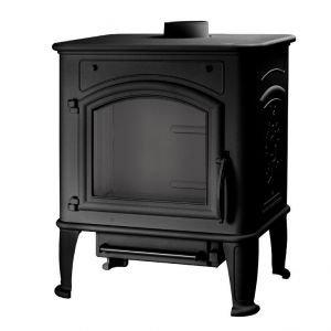 Печь Premium Lux, черная (Liseo)