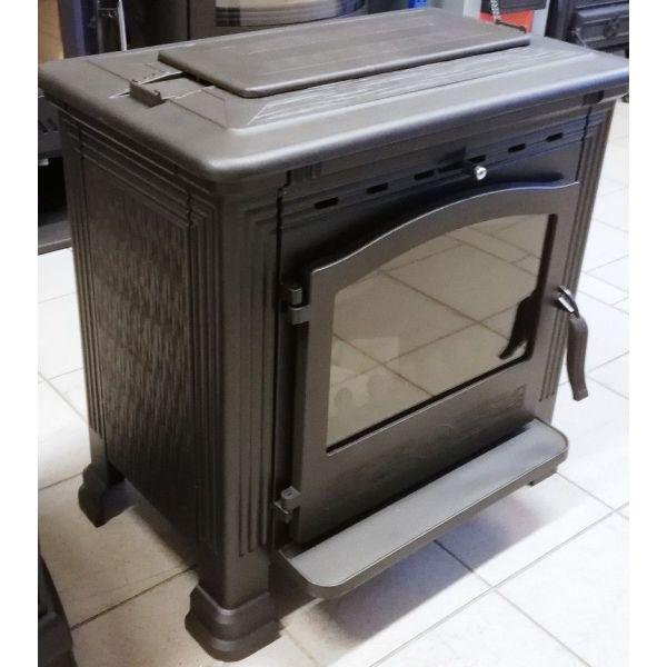 Печь TENA, эмалированная, черная (Plamen)
