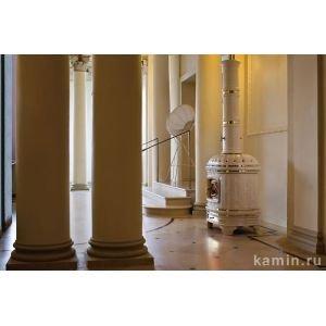 Печь Castellana, White, L1, с колонной (Sergio Leoni)