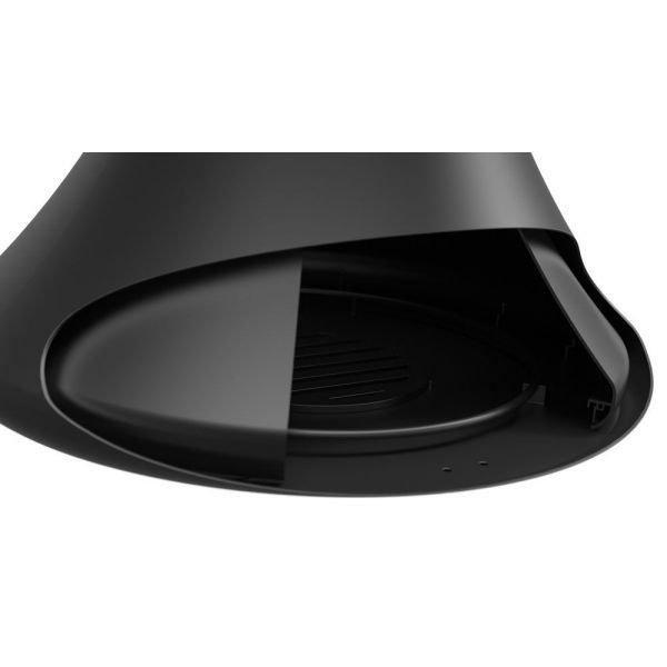 Камин Doria центр., односторонний, черный, без системы вращ. (Traforart)
