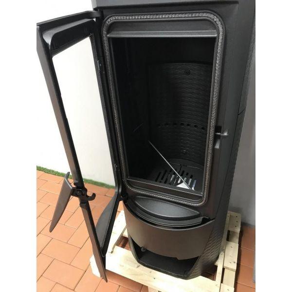Печь NERA, эмалированная, чёрная (Plamen)
