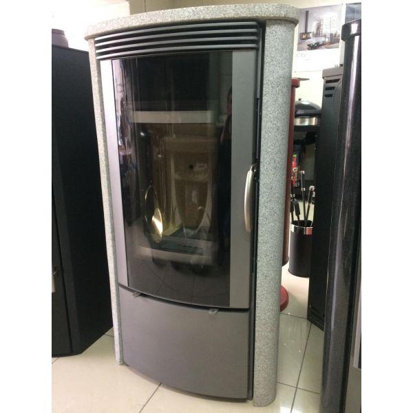 Дровяная печь EMBER SKI-210, серый, гранит