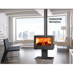 Дровяная печь PANADERO Harmonie Trivision