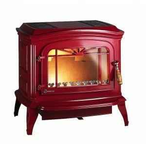 Печь-Камин BRADFORD красная