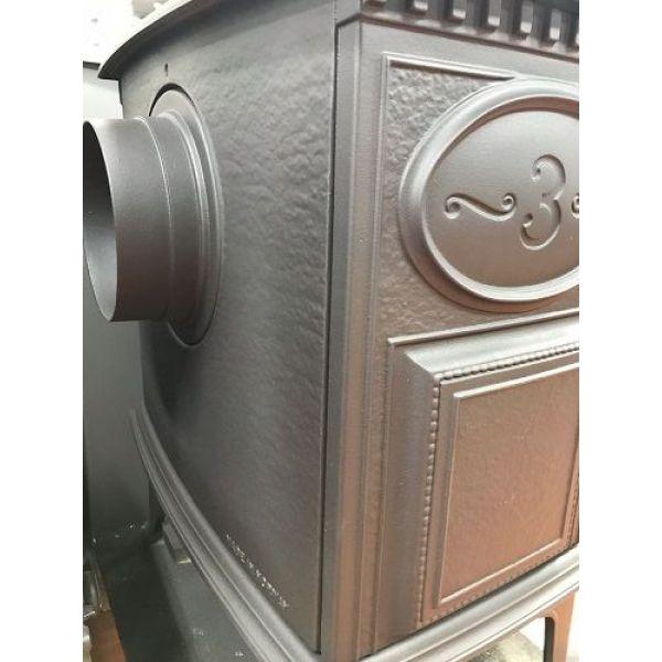 Jotul MF 3 BP чугунная печь-камин, 10 кВт