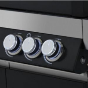 Газовый гриль Rosle VIDERO G3 чёрный цвет