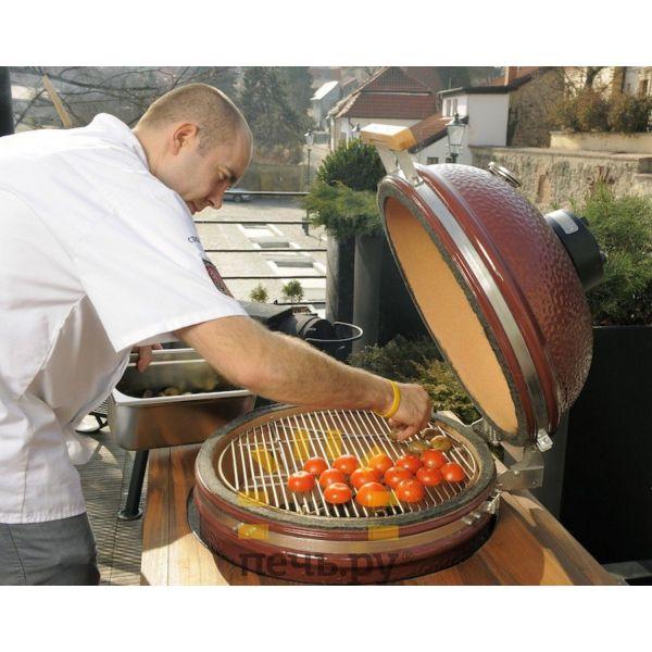 Керамический гриль Monolith Le Chef огромный S, R без подставки