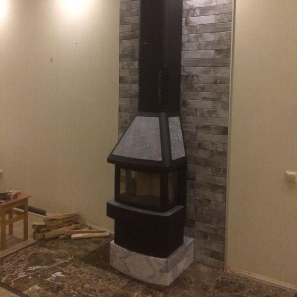 Готовый камин Contura 450T:10