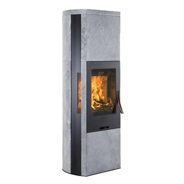 Печь камин Contura 35T:2 чугунная дверца, верхняя панель из талькомагнезита