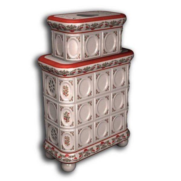КимрПечь Медальон центральный-двухъярусный роспись