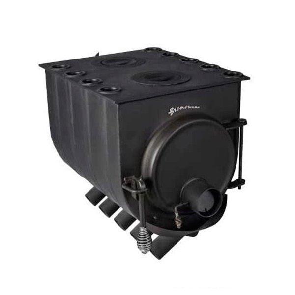 Отопительная печь Бренеран АОТ-08 тип 005 с 2х конфорочной плитой
