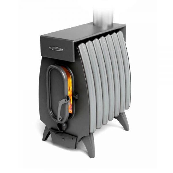 Отопительная печь ТМФ Огонь Батарея-7 Лайт антрацит-серый металлик