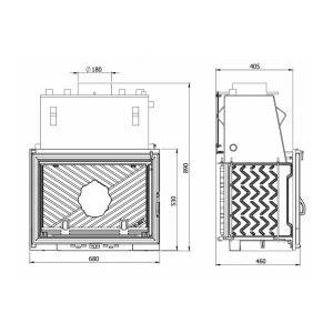 Kaw-Met W1 CO с водным контуром