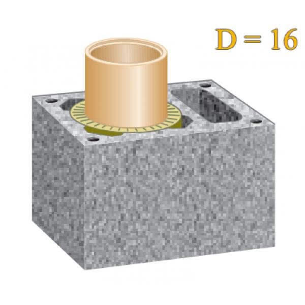 Одноходовой с вентиляцией 16L см.