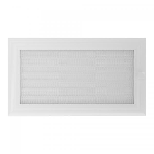 Вентиляционная решетка ОСКАР Белая (17*30) 30OBX