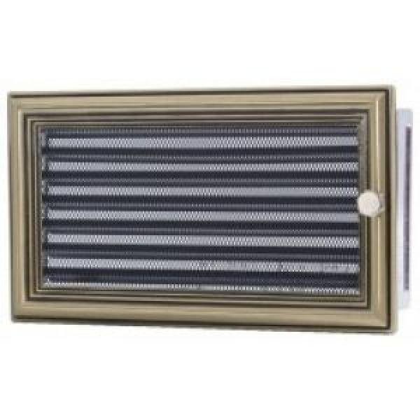 Вентиляционная решетка Ретро с жалюзи 17*30