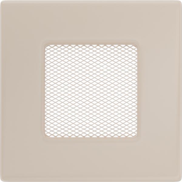 Вентиляционная решетка Кремовая (11*11) 11K