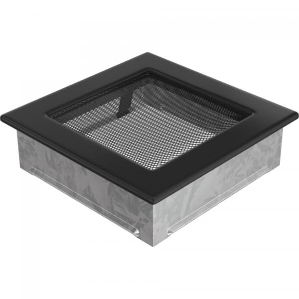 Вентиляционная решетка Черная (17*17) 17C