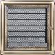 Вентиляционная решетка Рустик с задвижкой (17*17) 17RX