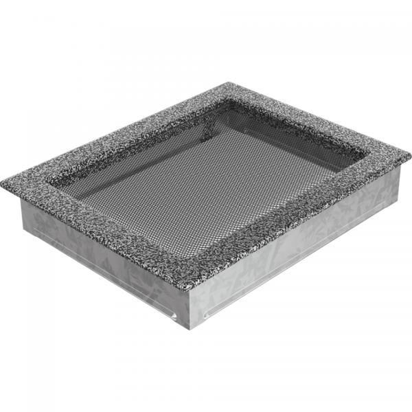Вентиляционная решетка Черная/Серебро (17*30) 30CS