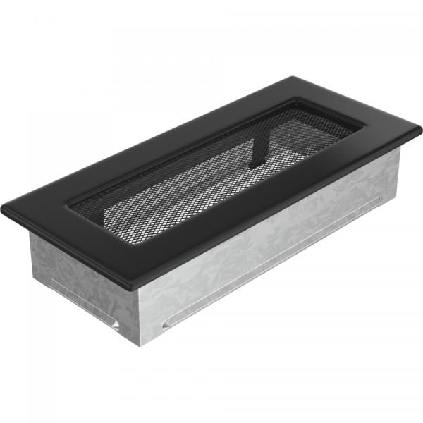 Вентиляционная решетка Черная (11*24) 24C