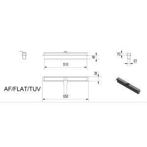 Биокамин FLAT, TUV(AF/FLAT/TUV)