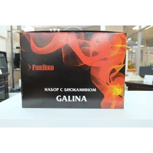 Биокамин GALINA, биотопливо (1.5л.), зажигалка (набор)
