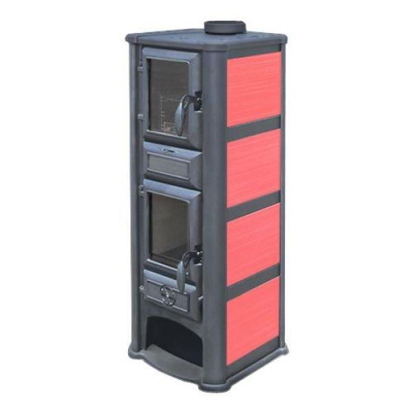Печь Lederata Plus красная (Tim Sistem)