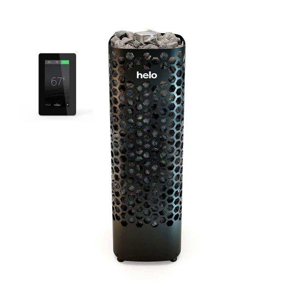 Электрическая печь Helo Himalaya 701 Black (Пульт Elite в комплекте)