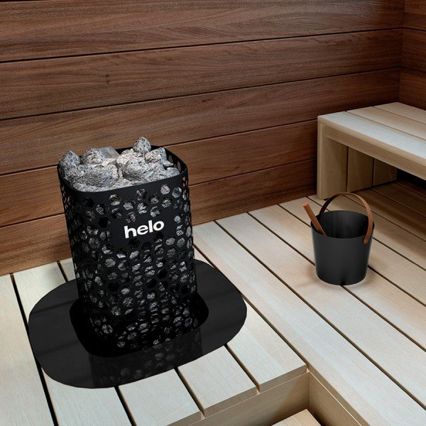 Электрическая печь Helo Himalaya 701 Black (Пульт Pure в комплекте)