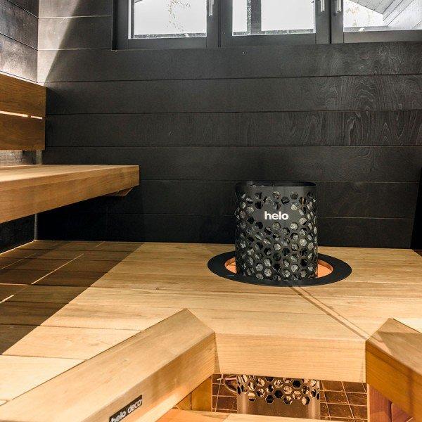 Электрическая печь Helo Himalaya 701 Steel (Пульт Pure в комплекте)
