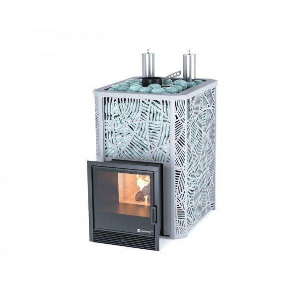 Банная печь ИзиСтим Ялта 25 К в кожухе Модерн