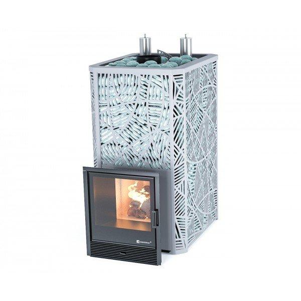Банная печь ИзиСтим Ялта 45 К в кожухе Модерн