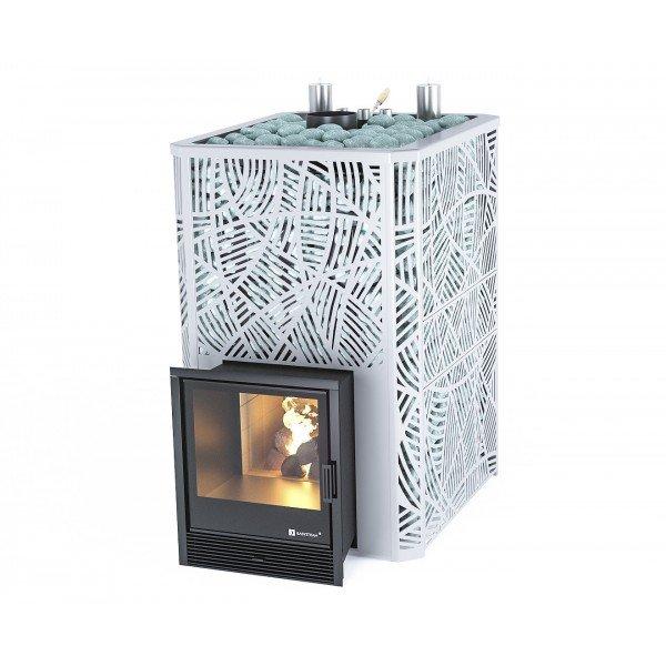 Банная печь ИзиСтим Ялта 55 К в кожухе Модерн