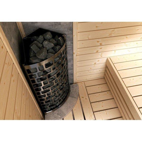 Электрическая печь SAWO Aries угловая ARI3-45NB-CNR-P 4.5 кВт