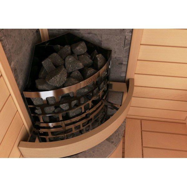 Электрическая печь SAWO Aries угловая ARI3-75NB-CNR-P 7.5 кВт