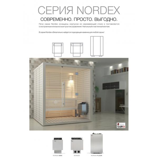 Электрическая печь SAWO Nordex NRX-80NB-Z 8 кВт