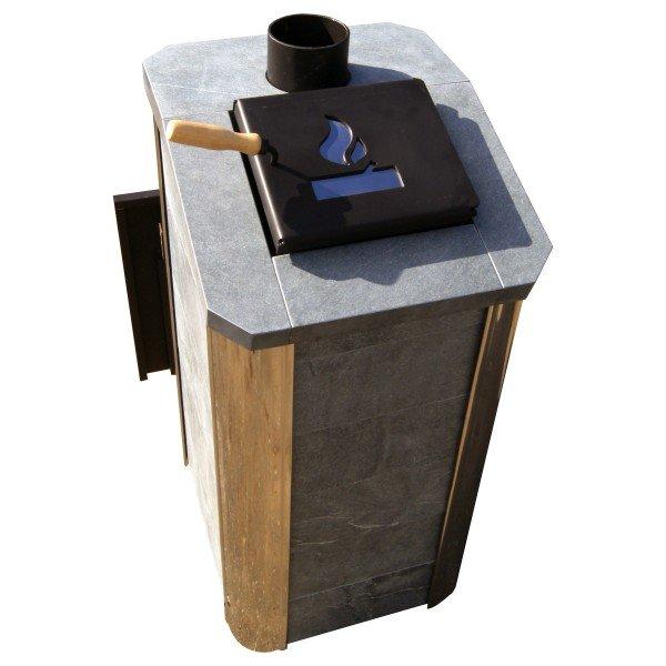 Банная печь Варвара ТЕРМА Сказка Мини Талькохлорит (до 12 куб.м)