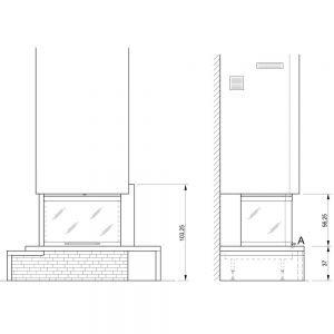 Облицовка TEXAS sx, под S78 3D (Palazzetti)