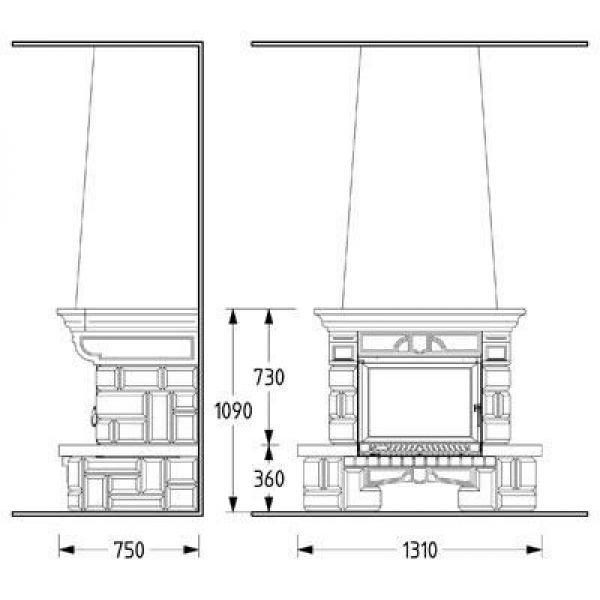 Облицовка SARDANE SR, с деревянной балкой (Supra-Russia)