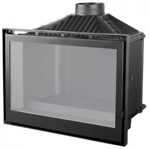 LCI 76 GF BG, черное стекло (Liseo Castiron)