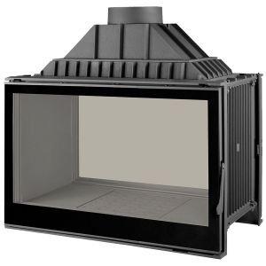 LCI 9 GDF BG, двусторонняя, черное стекло (Liseo Castiron)