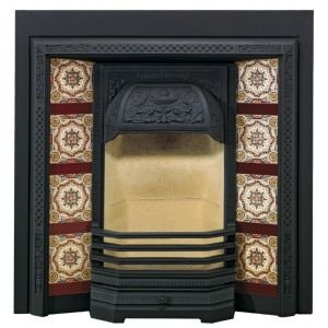 Stovax Victorian Tiled Fireplace