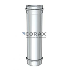 Дымоход Ø115 (430/0,8) L 500 мм (Corax)